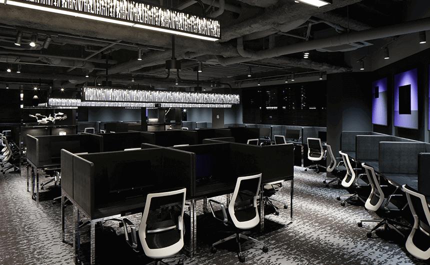 渋谷のコワーキングスペース「WORKCOURT 渋谷松濤」の7F